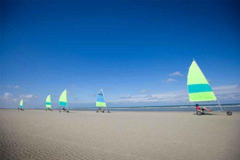 Teambuilding aan de Belgische kust