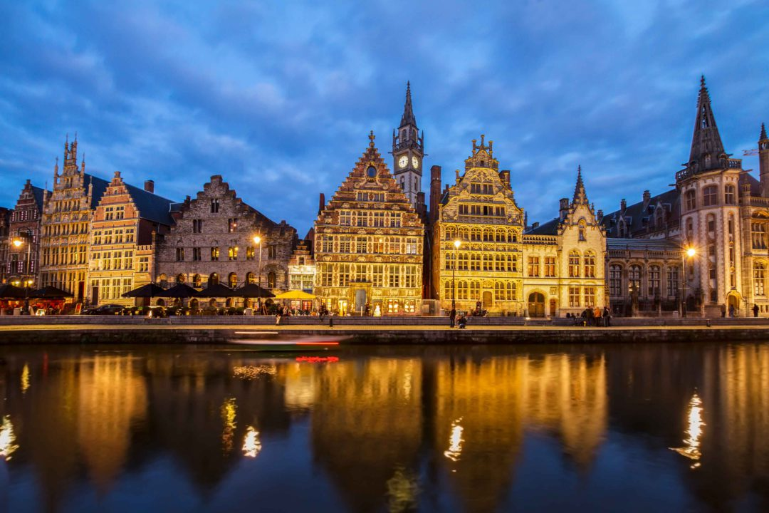 Evening Walking Tour Ghent